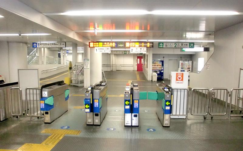 浜松町駅を攻略しよう!浜松町駅の構内図、改札口 …
